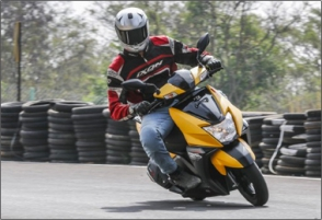 TVS' first ever 125cc scooter that doesn't merely promise to be a style icon, but also offers first-in class features