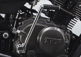 TVS Sport now with an engine life that is durable and long